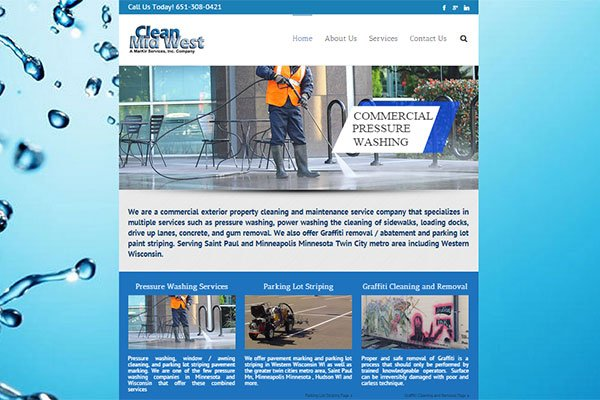 Clean Midwest's Website by Web South